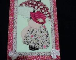 Caderno menina Sombrinha