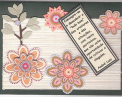 Cart�o artesanal 5 - Religiosos