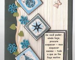 Cart�o artesanal - Religioso