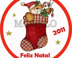 Adesivo para Latinhas Especial de Natal