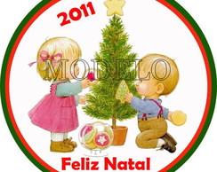 Adesivos para Latinhas Especial de Natal