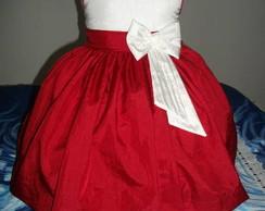 Lindo vestido de tafet� CDG:3385