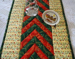 Trilho de mesa para o natal