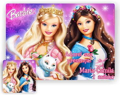 Barbie jogo americano