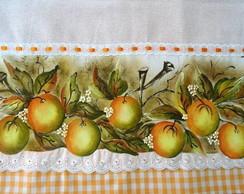 Pano de prato de laranjas
