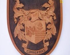 Bras�o da fam�lia Correas Dias