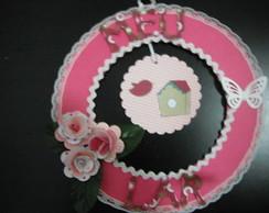 Guirlanda Pink Flowers