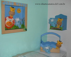 Kit Beb� Animais do Zool�gico