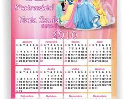 Princesas Disney calend�rio �m�