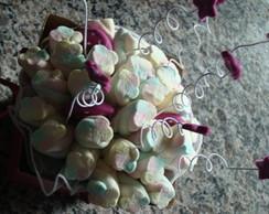 Buqu� de marshmallows pink