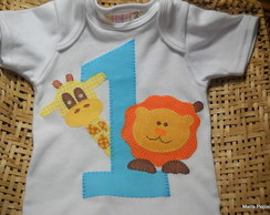 Body ou camiseta personalizada Safari