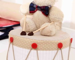 Urso no tambor