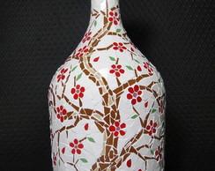 Garraf�o em Mosaico Troncos e Flores