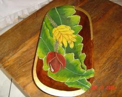 Gamela em madeira