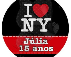 NY R�tulo para latinha mint to be