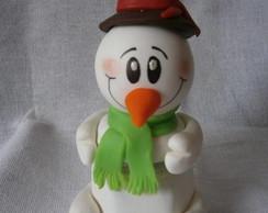 Potinho Boneco de neve