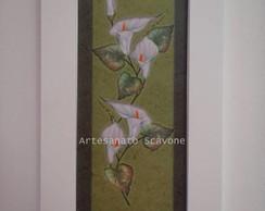 Quadro Flores em Arte Francesa