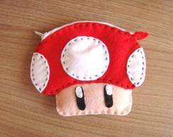 Porta moedas Toad- Mario Bros