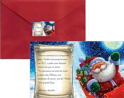 Convite Ceia de Natal Papai Noel