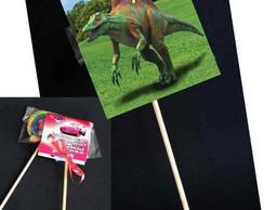 Dinossauros capa pirulito tag