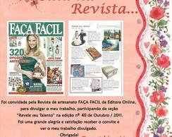 Revista Fa�a F�cil  - Outubro / 2011