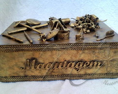 Caixa de Maquiagem - Decora��o (CAIG53)