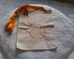 ecobag passarinho P- al�a de ombro-2