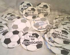 Convite bola de futebol