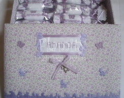 Caixa Baby Girl + 20 Lembrancinhas