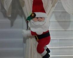 Prendedores de Cortina Gde Papai Noel