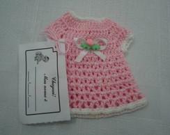 Lembrancinha nascimento - vestido