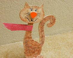 Freio de porta gatuno