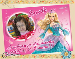 Lembran�a Barbie Princesa