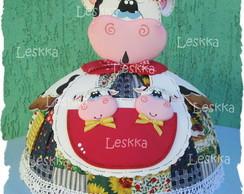 Cobre bolo de vaquinha