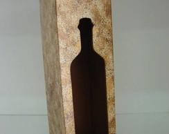 Caixa vinho em mdf
