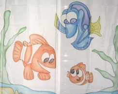 Cortina Personagens Nemo