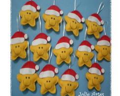 KIT Enfeites Estrelinhas de Natal