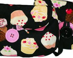 Clutches cupcakes pretas
