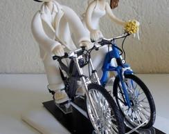 Noivinhos nas Bicicletas