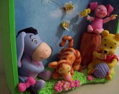 Quadrinho, Pooh  baby e seus amiguinhos