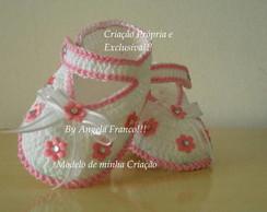 Sandalinha Flowers Baby,MInha Cria��o!!