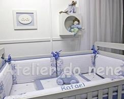 Ref 341 - KB Toile de Jouy Azul - 9 p�s