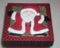 Papai Noel - Pathwork embutido