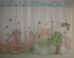 Cortina Infantil Personagens As Meninas