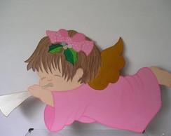 Painel Anjo com Corneta