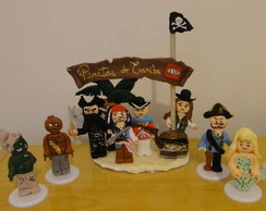 Topo Premium Piratas do Caribe Lego