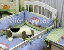 Ref 335 Kit Ber�o - Cachorrinho 7 p�s