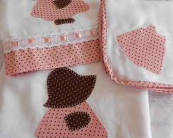 kit de toalha fralda e fraldas