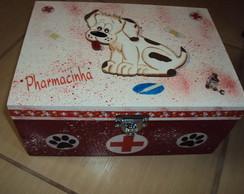 Farmacinha com cachorrinho