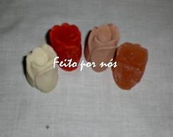 Sabonete Bot�o de Rosas